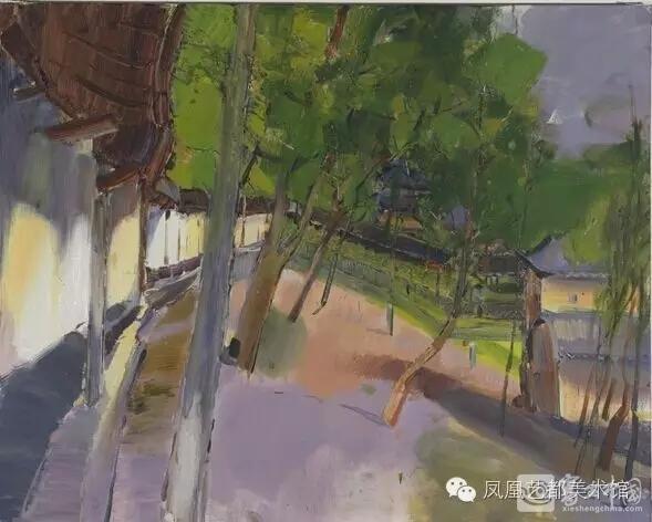 长夏草木深 管朴学油画作品展亮相凤凰艺都美术馆 油画 中国最专业的